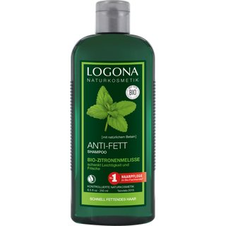 Logona Anti Grease Shampoo Lemon Balm 250ml