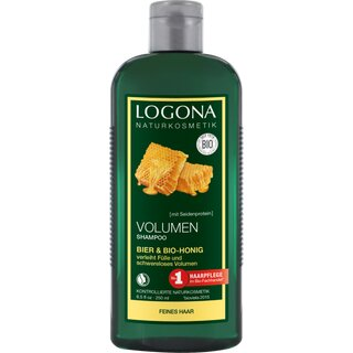 Logona Volume Shampoo Beer & Organic Honey 250ml