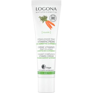 Logona Complexion Optimizing Vitamin Cream Organic Carrot 30ml