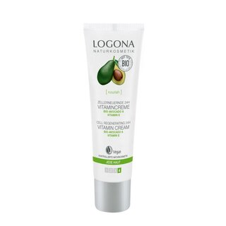 Logona Cell Regenerating 24h Vitamin Cream Bio-Avocado 30ml