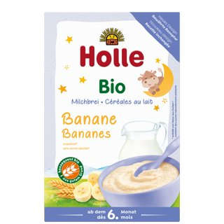 Holle Organic Milk Cereal with Banana 250g