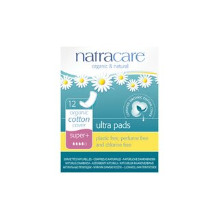 Natracare Ultra Pad in Super Plus 12St.