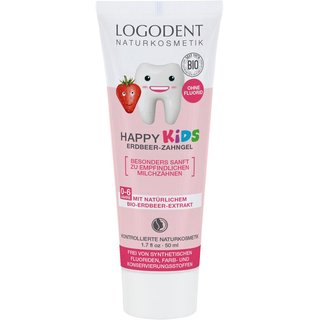 LOGODENT Happy Kids Strawberry Toothgel 50ml