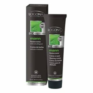Logona Mann Shaving Cream  Bio Ginkgo & Coffein 75ml
