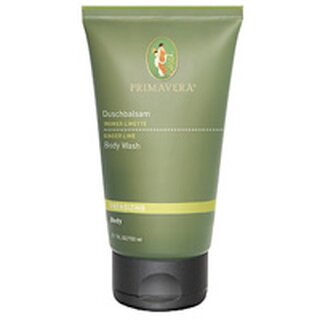 Primavera Energizing Body Wash Ginger Lime 200ml