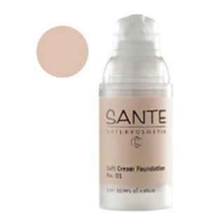 Sante Soft Creme Foundation No.01 porcellan 30ml