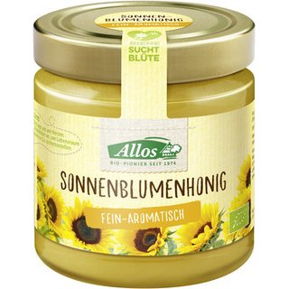 Allos Sunflower Honey 500g