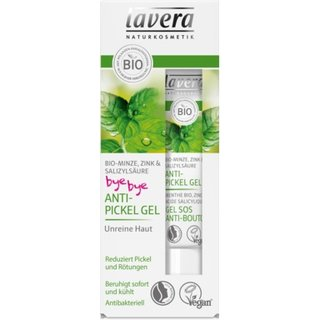 Lavera Bye-Bye Anti-Pickel Gel Bio-Minze 15ml