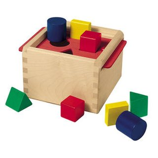 Selecta Dexterity Toy Sorting Box
