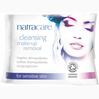Natracare Cleansing Make-up Removal for sensitive Skin 20St.