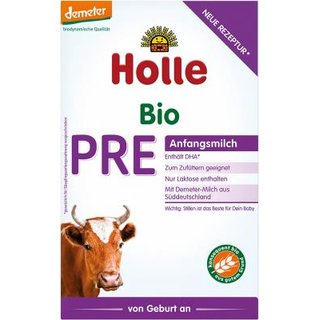 Holle Organic Infant Formula PRE with DHA 400g