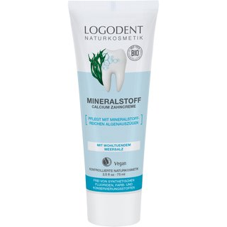 LOGODENT Mineral Calcium Toothpaste 75ml