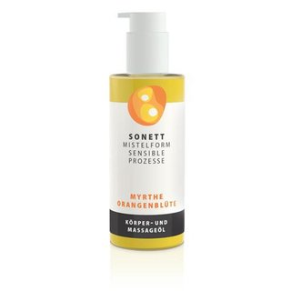Sonett Mistletoe Myrtle & Orange Blossom Massage Oil 145ml