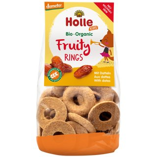 Holle Kids Fruity Rings with Dates 125g