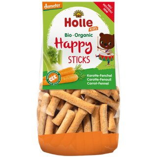 Holle Kids Happy Sticks Carrot-Fennel 100g