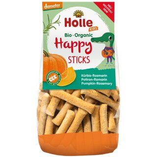 Holle Kids Happy Sticks Pumpkin and Rosemary 100g