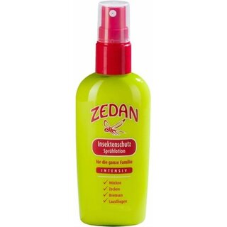 Zedan Insect Repellent Intensive Spray Lotion 100ml