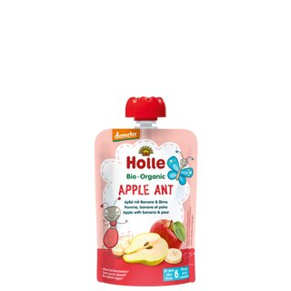 Holle Pouchy - Apple Ant 100g