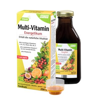 Salus® Multi-Vitamin Energetic 250ml