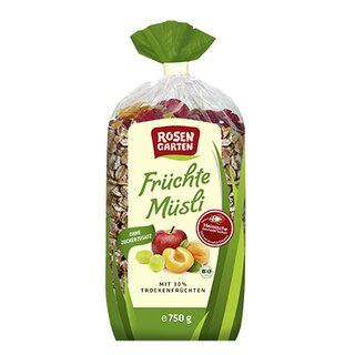 Rosengarten Fruits Muesli 750g