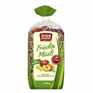 Rosengarten Muesli with Fruits 750g