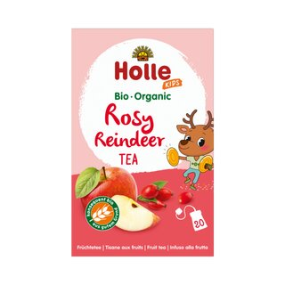 Holle Organic Rose Reindeer Tea 20x2,2g