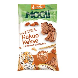 Mogli Cocoa Biscuits with Spelt & Butter 50g