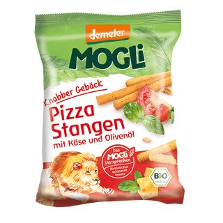 Mogli Pizza Sticks with Cheese and Olive Oil 75g