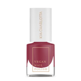 Kia-Charlotta Nail Polish Confident Raspberry 5ml