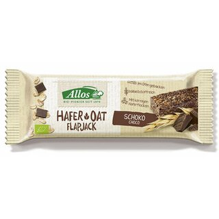 Allos Oat Flapjack Chocolate 50g