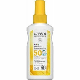 Lavera Sensitive Sun Lotion Kids LSF 50 - high 100ml