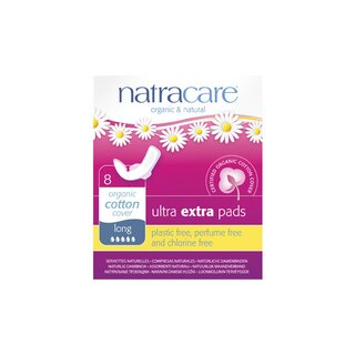 Natracare Ultra Extra Pads Long 8St.