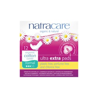 Natracare Ultra Extra Pads Normal 12 St.