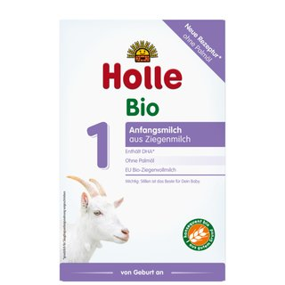 Holle Organic Infant Goat Milk Formula 1 with DHA 400g