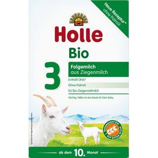 Holle Organic Infant Goat Milk Follow-On Formula 3 with DHA 400g