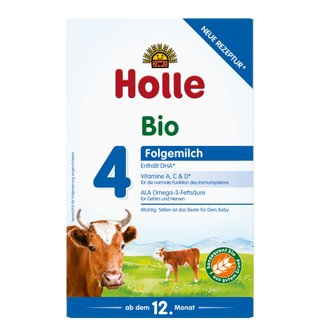 Holle Organic Growing-up Milk 4 with DHA 600g