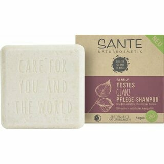 Sante Solid Shine and Care Shampoo 60g