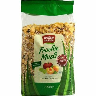 Rosengarten Muesli with Fruits 2kg