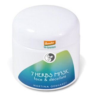 Martina Gebhardt 7 Herbs Mask Face & Décolleté 100ml