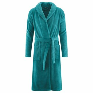 Living Crafts Bathrobe petrol 1Pc.