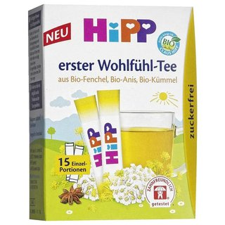 HiPP Organic First Feel Good Tea 15 x 0,36g = 5,4g