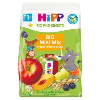 HiPP Organic Mini Mix Muesli Fruit Bar 100g