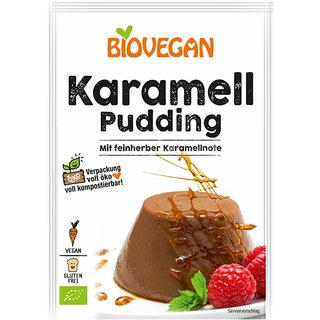 Biovegan Caramel Pudding 43g