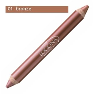 Logona Double Lip Pencil No. 01 - bronze 1 St.