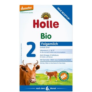 Holle Bio-Säuglings-Folgemilch 2 600g