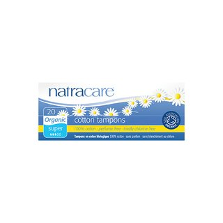 Natracare Tampons Super 20St.