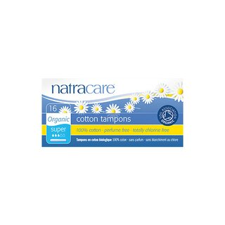 Natracare Super Absorbency with Applicators 16St.