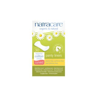 Natracare Curved Liner 30pcs.