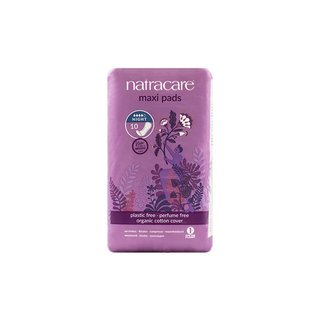 Natracare Maxi Pads Night Time 10St.